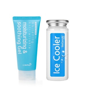 [1+1] ICE Cooler & Herbal Soothing Gel Set